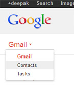 Adding gmail contact