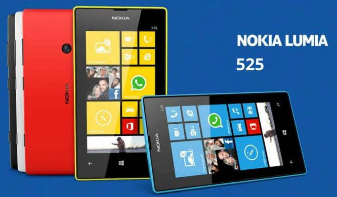Nokia Lumia 525 : A Good Budget Window Phone with 1GB RAM