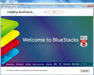 bluestacks emulator-spiderorbit