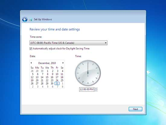 windows 7 time and date zone setting-spiderorbit