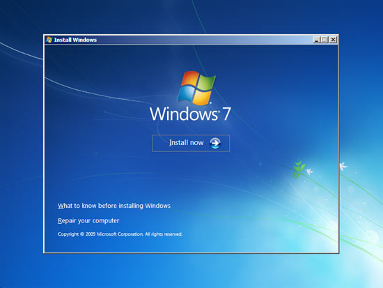 windows 7 install-spiderorbit