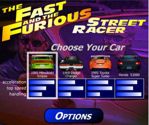 The Fast and Furious – Street Racer-spiderorbit