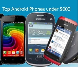 Top Android Phones under 5000-spiderorbit