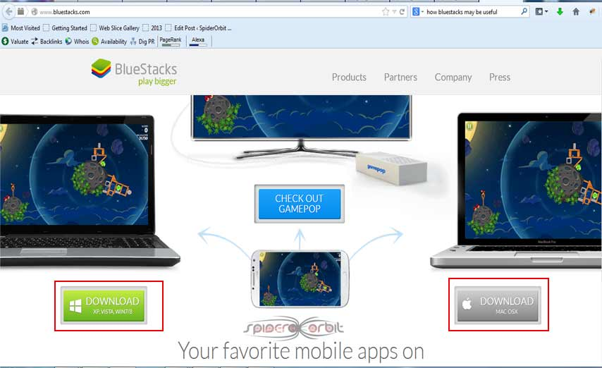 how to install Bluestacks on PC-spiderorbit