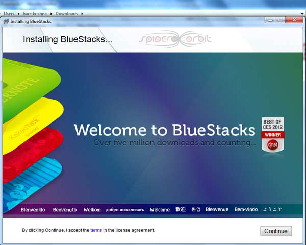 How to download Bluestacks for PC-spiderorbit