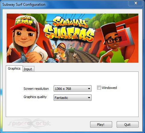 subway surfers game play on computer download
