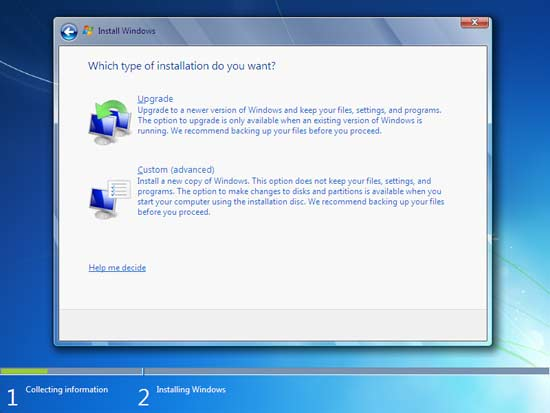 windows 7 upgrade-spiderorbit