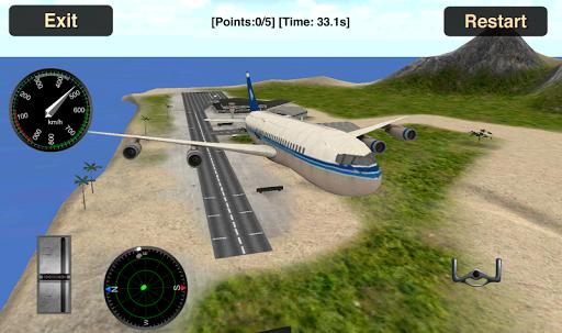 Flight Simulator Airplane3D-spiderorbit